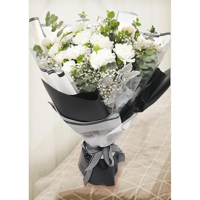 Hoa cẩm chướng trắng