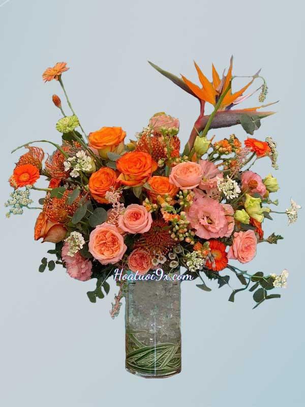 Hoa Cắm Bình B201