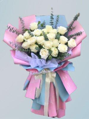 Bó hoa sinh nhật sang trọng
