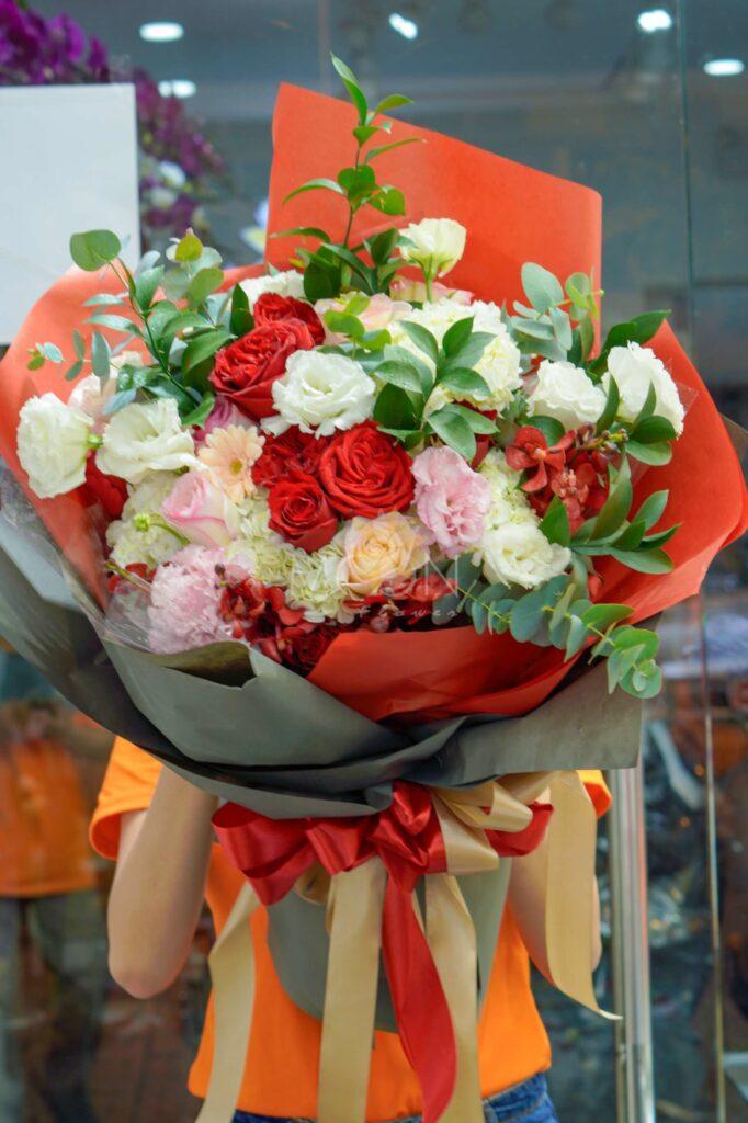 Dịch vụ trang trí hoa tươi
