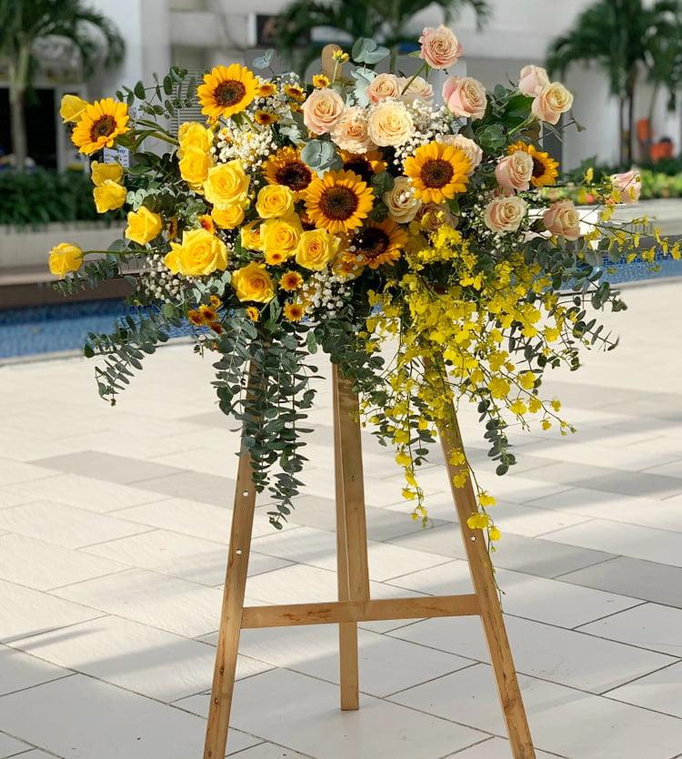 Các dịch vụ trang trí hoa yêu cầu tại Hoa Tươi 9x