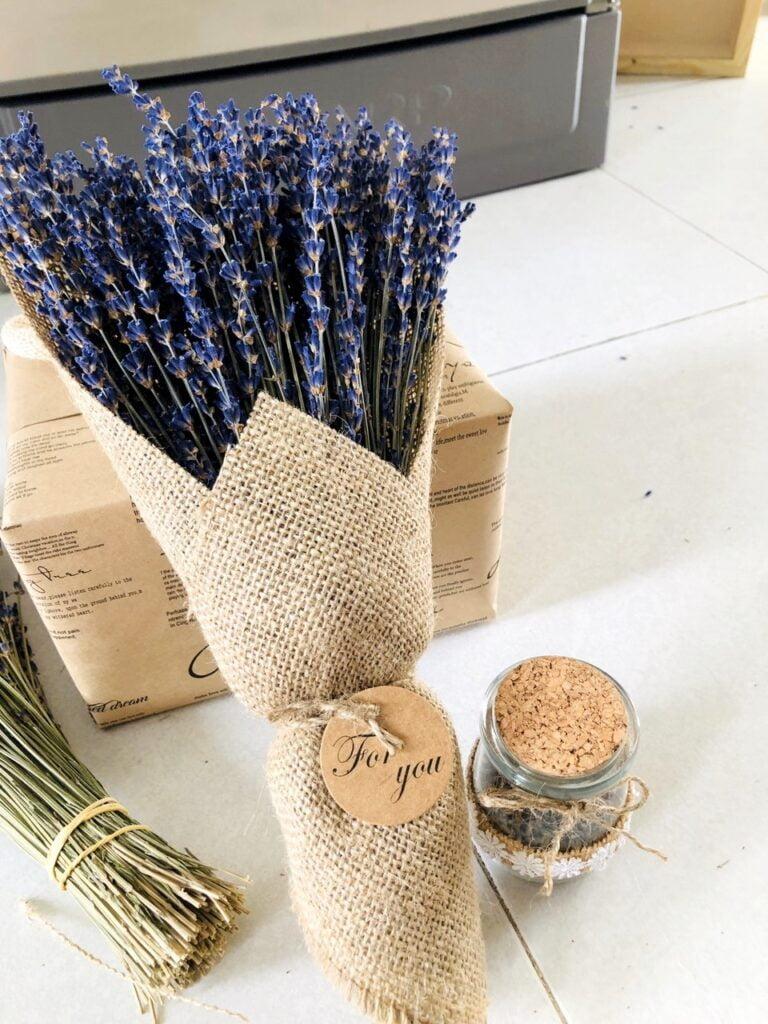 Ý nghĩa hoa lavender theo màu sắc