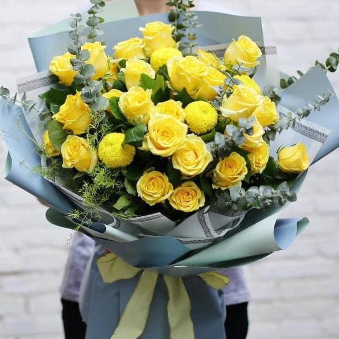 Hoa hồng vàng trong tình bạn