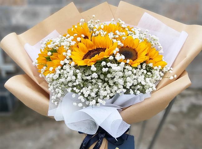 Ý nghĩa hoa hướng dương theo số lượng