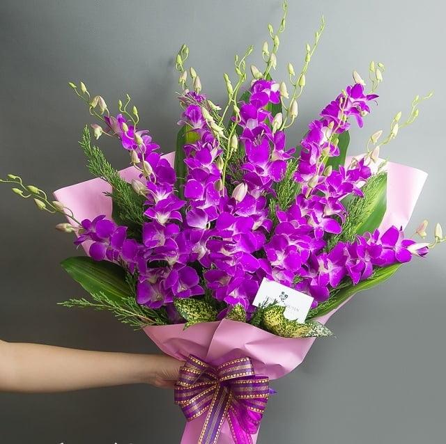 Hoa phong lan - Hoa thành công