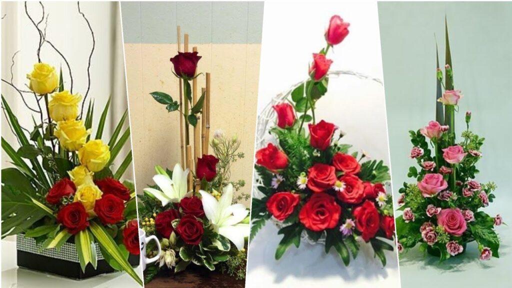 Vài kiểu cắm hoa đơn giản dễ thực hiện ngay tại nhà