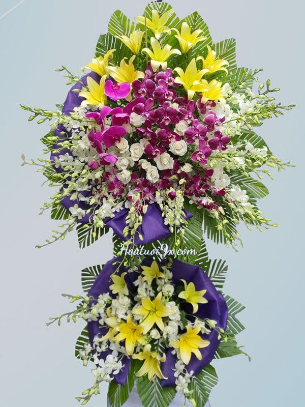 Hoa tang lễ S69