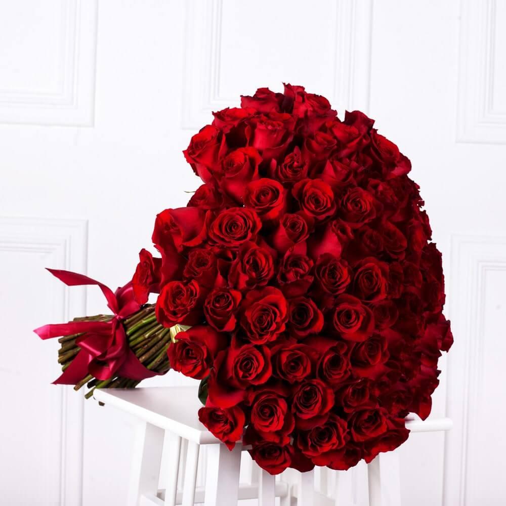 Số lượng hàng trăm - Ý nghĩa của 9 bông hồng