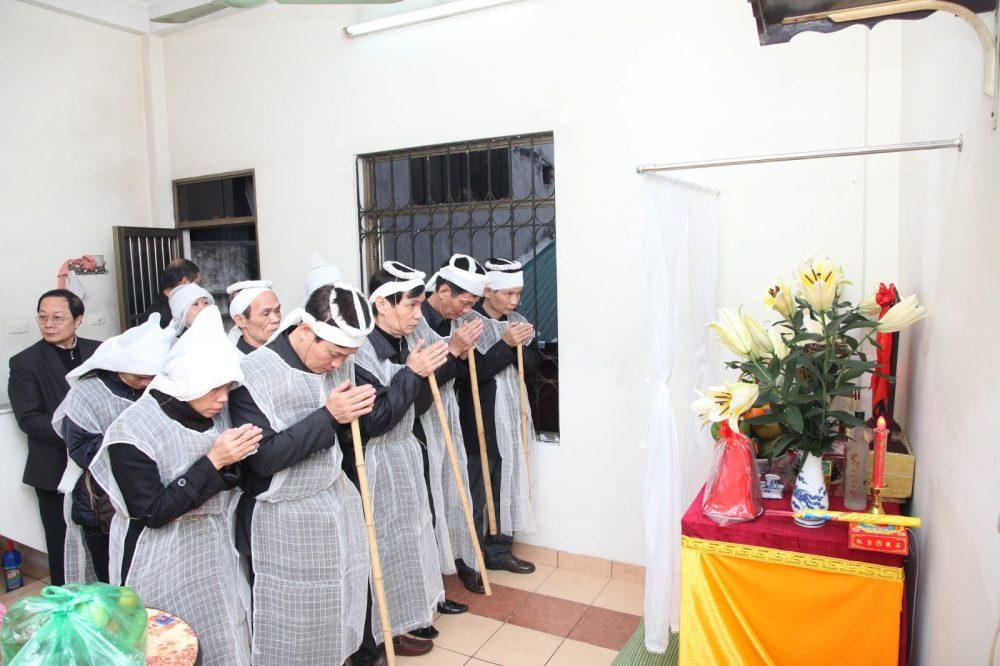Các nghi thức sau đám tang