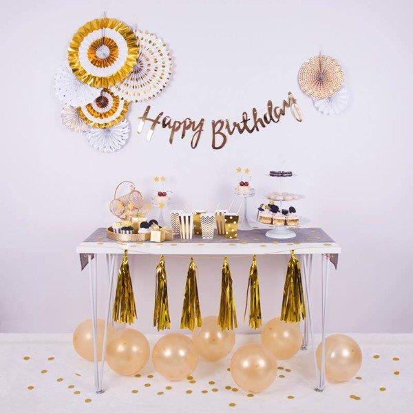 vật dụng cần thiết để tổ chức buổi tiệc sinh nhật