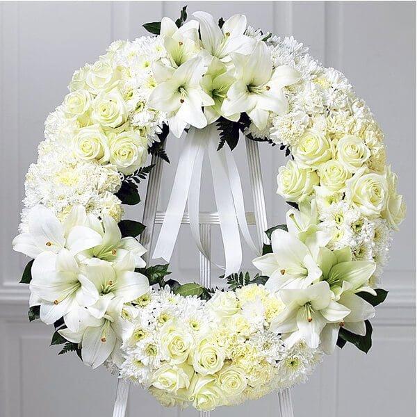 đặt vòng hoa tang lễ giá rẻ