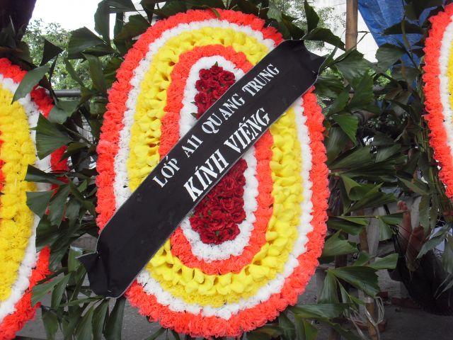 Hoa tang lễ truyền thống miền Bắc