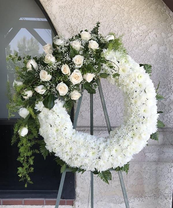 Hoa tang lễ kiểu hiện đại