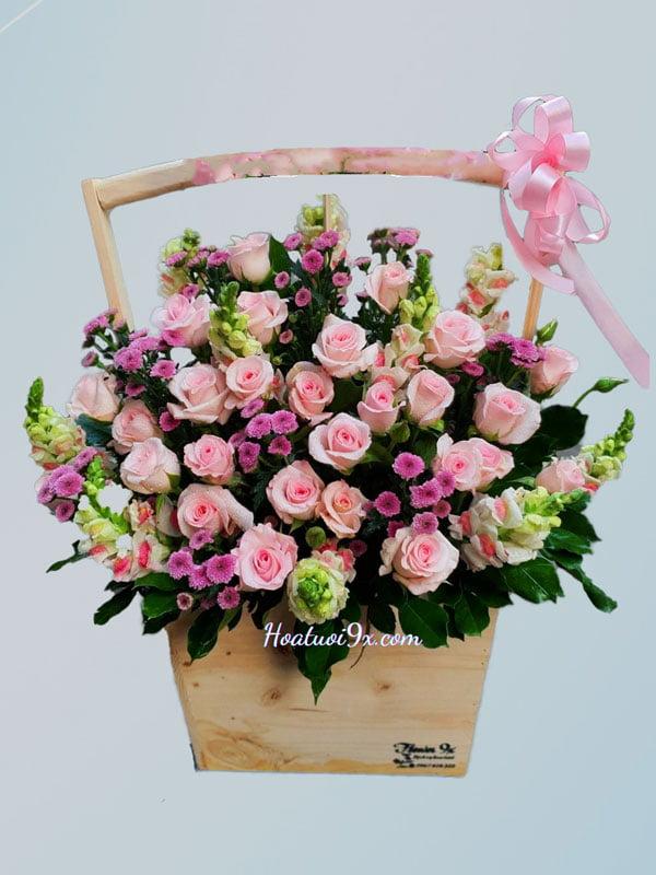 Hoa Giỏ V169