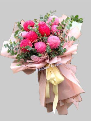 Chợ đầu mối hoa tươi