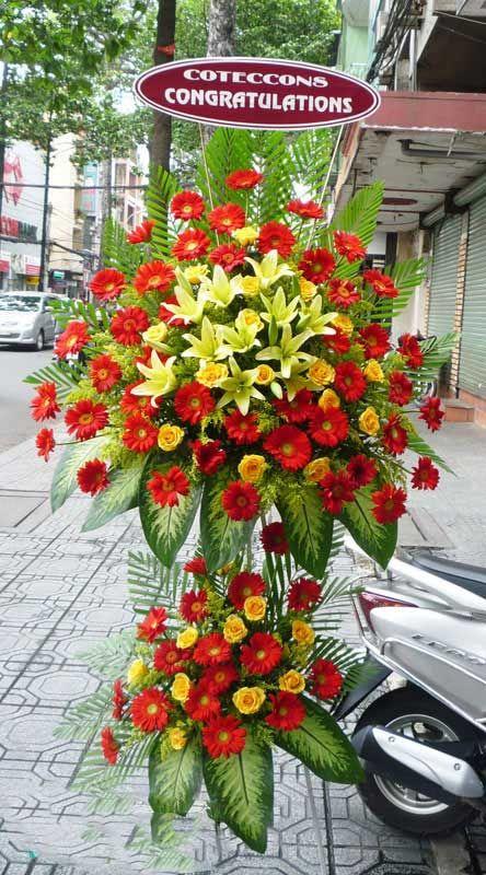 Tạo lợi thế khi đặt hoa chúc mừng khai trương tại quận 9