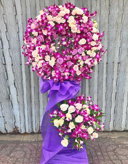 Vòng hoa tang lễ để được trong bao lâu?
