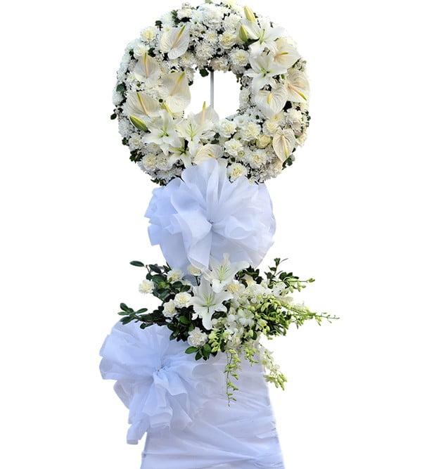 đại diện cho sự chia sẻ nỗi mất mát của gia quyến trước nỗi đau mất đi người thân