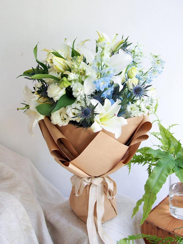 bó hoa dành cho sếp nam