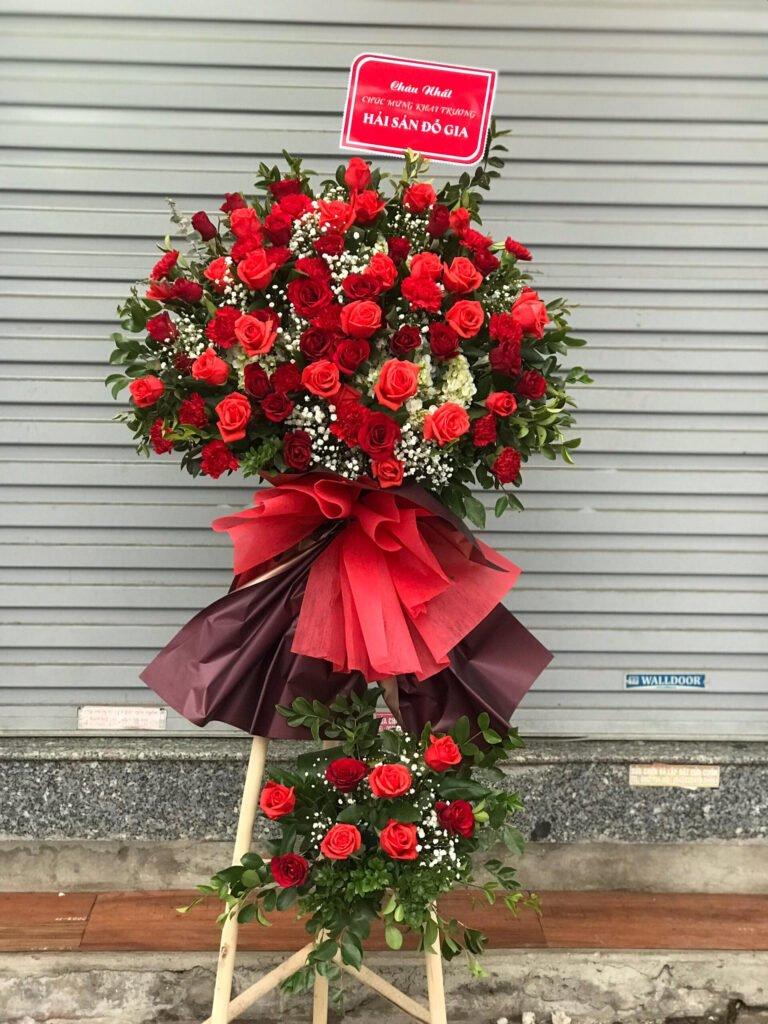 Ưu điểm về hoa chúc mừng khai trương đẹp