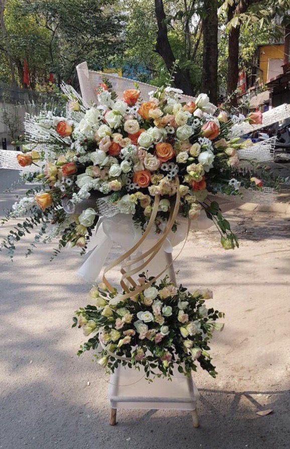Đa dạng hoa mừng khai trương đẹp xuất sắc