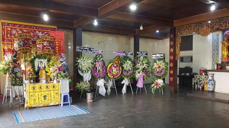 Nhà tang lễ chùa Vĩnh Nghiêm