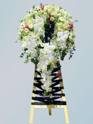 Hoa tang lễ sang trọng