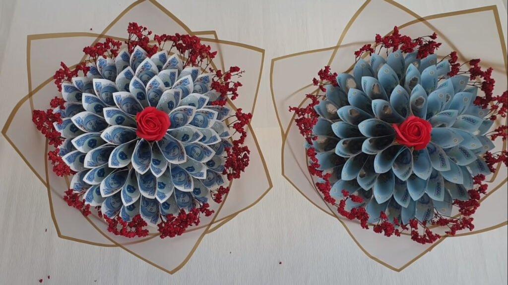 Đối với những bó hoa tiền cầu kì; phức tạp; cũng đòi hỏi ở người làm cần một số kỹ thuật nhất định