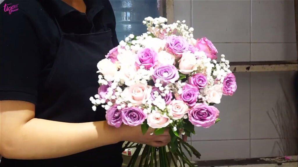 Ý nghĩa việc tự tay làm hoa tặng bạn gái