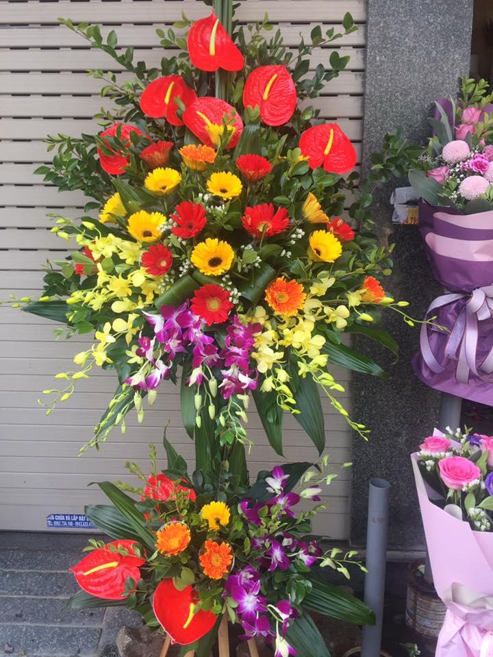 Khai trương nên tặng hoa gì?