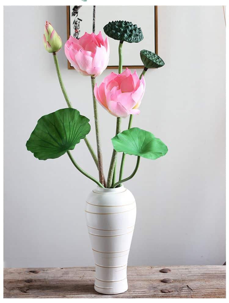 chọn những cây hoa còn tươi mới, màu sắc hồng hào