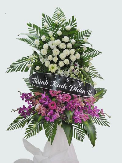 7 vòng hoa tang lễ đẹp nhất Sài Gòn