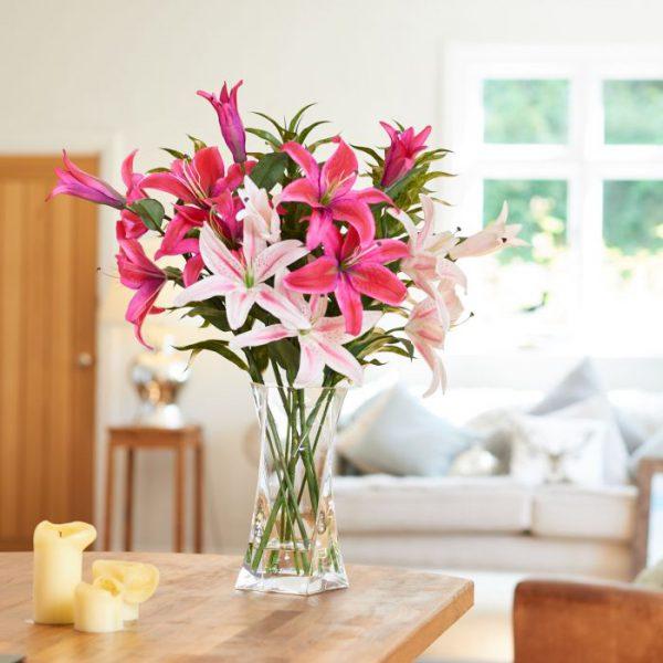 Cách cắm hoa ly đẹp nhất