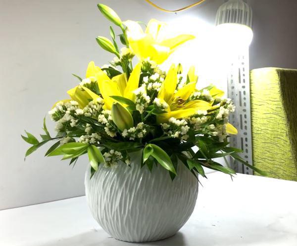 nên lựa những bông hoa ly từ 4 -5 tai trở xuống