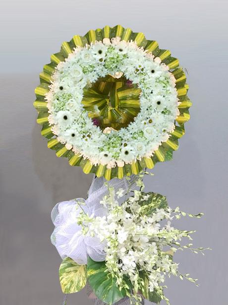 Thế nào là vòng hoa viếng tang lễ thành kính phân ưu?