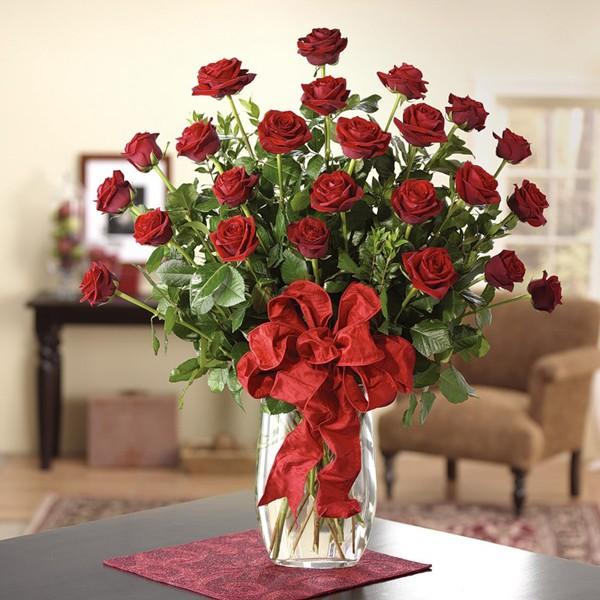 Cách cắm hoa hồng bằng nước cốt chanh
