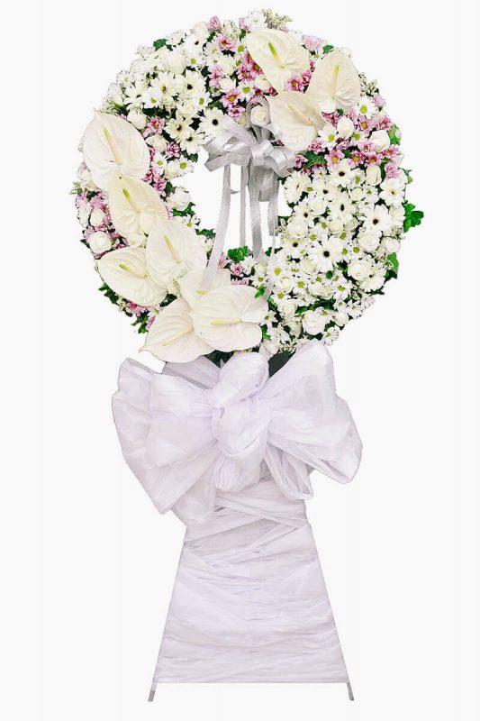 Những mẫu kệ hoa tang thành kính phân ưu