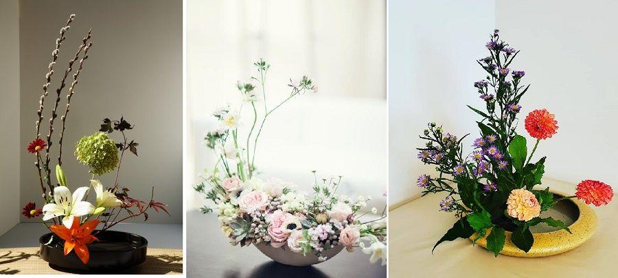 có thể lựa chọn nhiều loại hoa khác nhau cho phù hợp