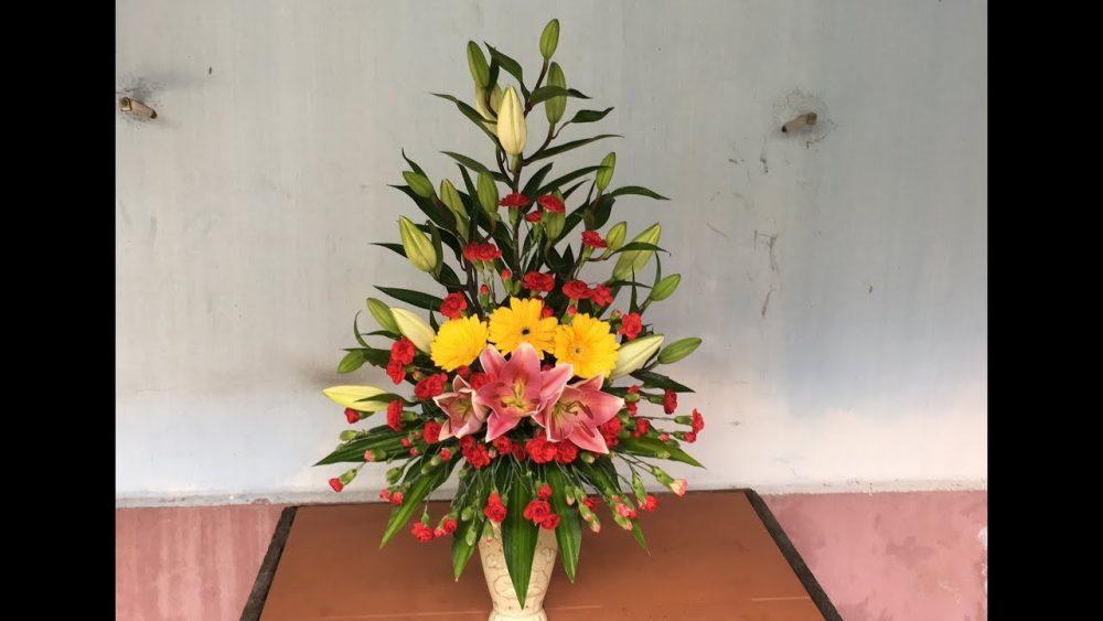 Quấn kẽm cho phần hoa lan tím