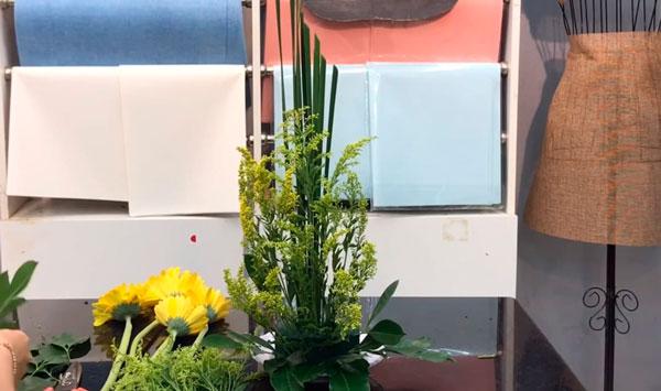 có thể sáng tạo theo kiểu dáng xếp hoa