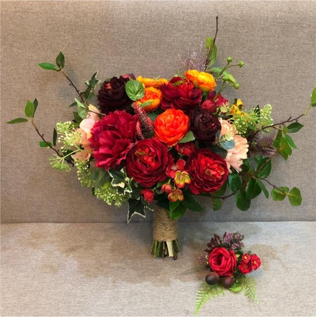 Trang trí bó hoa cưới theo phong cách châu Âu