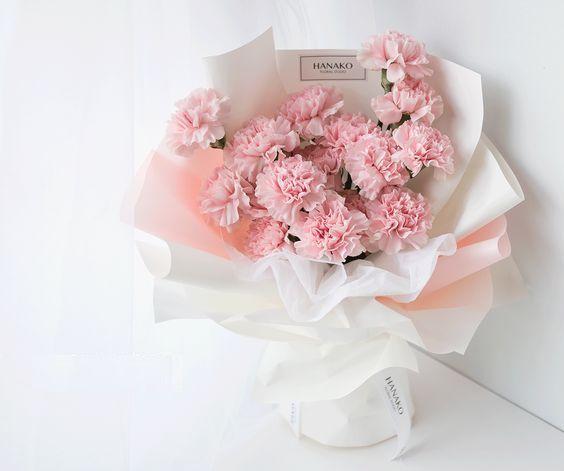 Bao chân bó hoa cẩm chướng dạng dài