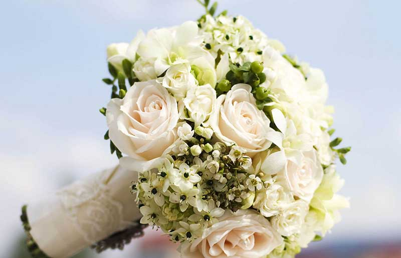 Cách làm khung bó hoa cưới dễ dàng nhất