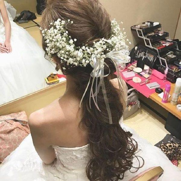 Cách làm vòng cài hoa baby nửa đầu đẹp nhất