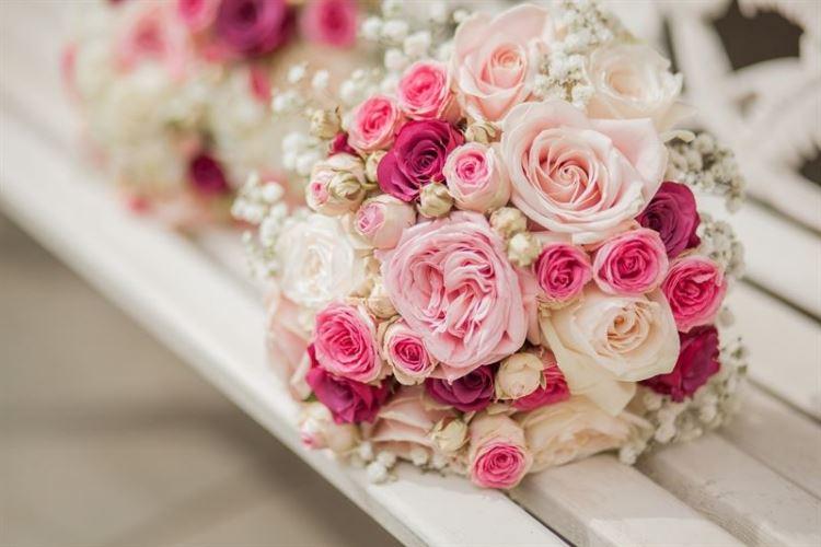 Nguyên liệu cho bó hoa cưới tự nhiên