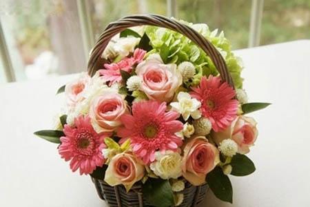 Cố định giỏ hoa