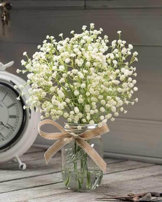 Cách bó hoa giúp hoa đứng được trên đế