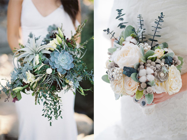 Tạo điểm nhấn cho bó hoa