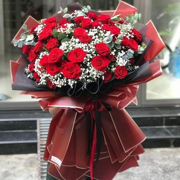 Phương pháp bó hoa hồng nhập vừa đẹp lại sang trọng nhất