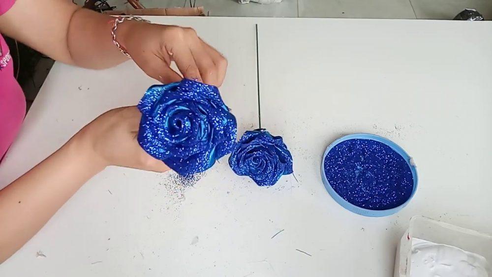 Nguyên liệu cần chuẩn bị làm hoa ruy băng